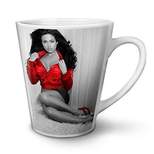 Foto Sexy Beine (Wellcoda Modell Nackt Heiß Foto Sexy Latte BecherSexual Kaffeetasse - Komfortabler Griff, Zweiseitiger Druck, robuste Keramik)