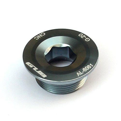 demiawaking GUB Kurbelgarnitur Kurbel Arm Befestigungsbolzen Schraube CNC für Shimano XTR Deore, Titanium color -