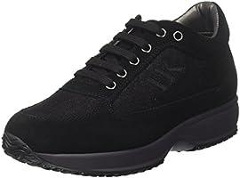 Lumberjack SW01305-007N72, Sneaker a Collo Basso Donna, Nero, 37 EU