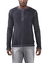 Esprit Mit Knopfleiste-Slim Fit, T-Shirt Homme