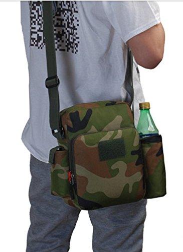 Uomo borsa da viaggio/Borsa a tracolla sport all'aria aperta/Portafogli casual/ andare in bicicletta il bollitore-B B