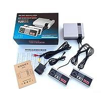 pacchetto: 1 X console di gioco 2 X controller di gioco 1 X Connessione AV 1 X Manuale inglese
