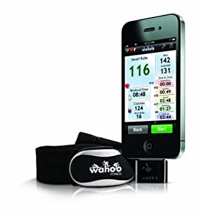 Wahoo Fitness ANT+ Running Set Ceinture cardiofréquencemètre Noir