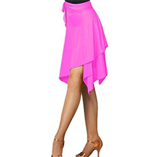 30b2bbfa8 YOUMU Femmes Ballroom Latin Salsa Tango Danse Jupe Robe Skate Wrap Écharpe  Dancewear