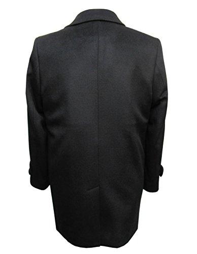 Herren Mantel Kurz Schwarz Muga Schwarz