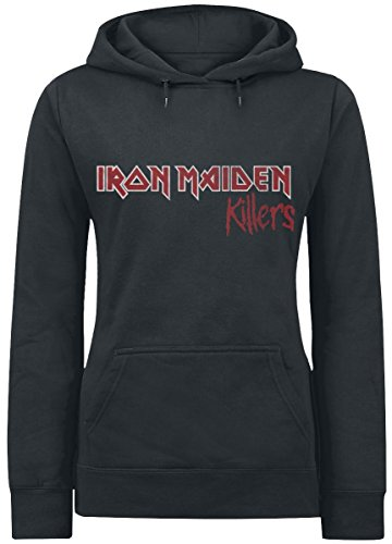 Iron Maiden Local Killers Felpa donna nero L