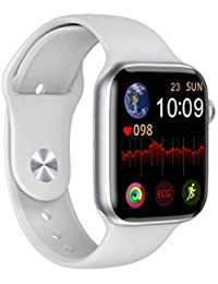 naack Bluetooth Smart Watch Pantalla táctil IP68 Impermeable Frecuencia cardíaca Llamadas presión sanguinea Deportes Fitness Pulsera de Actividad Compatible con iOS y Android