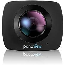 2016 Nueva 360 cámara de vídeo H.264 WiFi panorámica de 360 grados de la cámara 1920x1080 grande panorámica de la cámara 360 de la lente Cámara de vídeo de la acción