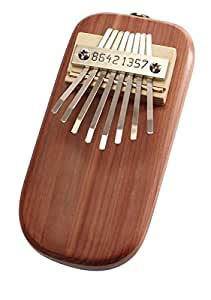 Percussions ETHNO BDCR-E - KALIMBA ELECTRO ACOUSTIQUE 8 NOTES DIATONIQUE - CEDRE ROUGE (MADE IN USA) Kalimba