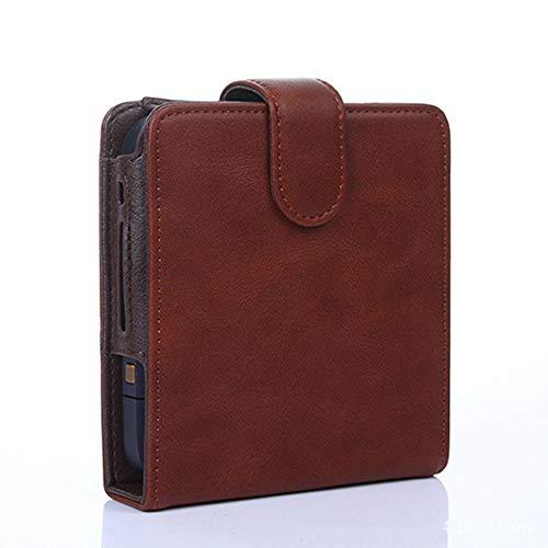 Mitrc Iqos Electrnic Zigarettenschutzhülle, Zigarre Cover elektronische Zigarette Ledertasche Box Halter Lagerung für Iqos,Brown