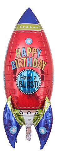 Atemluft Montage (Ballongruesse - Happy Birthday Ballon