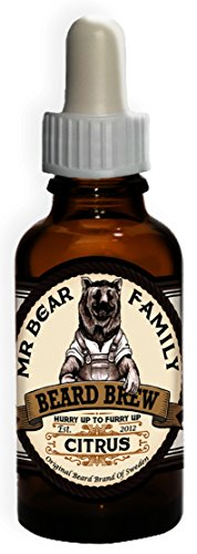 Huile Barbe Mr Bear Family Citrus