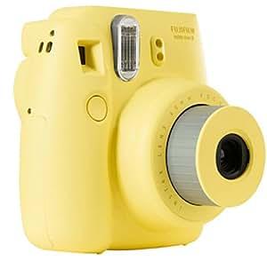 Fujifilm 16273180 Instax Mini 8 Sofortbildkamera (62 x 46mm) gelb