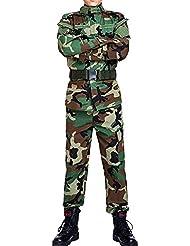 MNBS Hommes Tactique Combat Uniforme Veste Chemise & Pantalons Costume Armée Militaire Airsoft Paintball Chasse Tournage Guerre Jeu