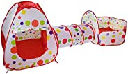 3Pcs/Set Tent Lodge Foldable Pool-Tube-Teepee baby Play Tent House Infant Kids Crawling Pipeline Tunnel Game P