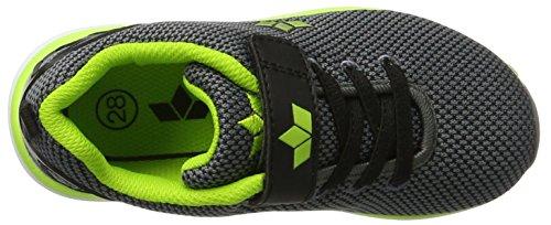 Lico Cube Vs, Sneakers Basses Garçon Gris (Grau/schwarz/lemon)