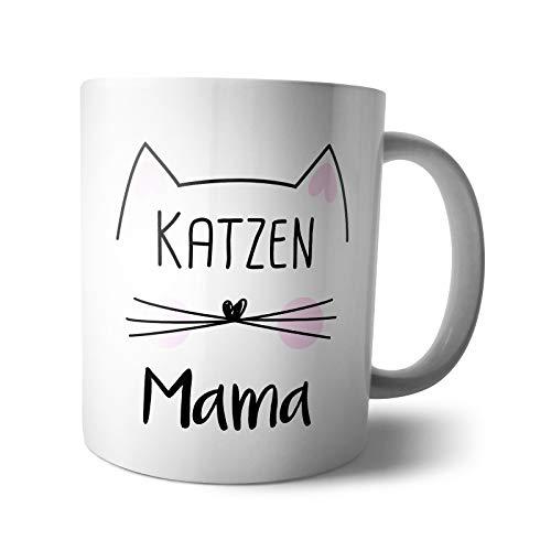 Kaffee-Becher - Tasse Katzen Mama   Katzenmama
