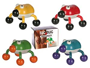 Novelty Funky and Fun Red Hand Held Bug Massager