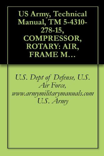 U.S. Dept of Defense U.S. Air Force www.armymilitarymanuals.com U.S. Army - US Army, Technical Manual, TM 5-4310-278-15, COMPRESSOR, ROTARY: AIR, FRAME MOUNTED; 2-W PNEUMATIC TIRED, GASOLINE ENGINE, 60 CFM, 6.5 PSI,