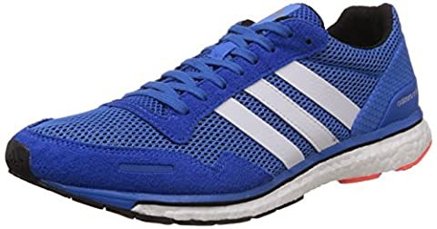 adidas Herren Adizero Adios 3 M Laufschuhe, Blau (Bright Royal/Core Black/Ftwr White), 40 EU