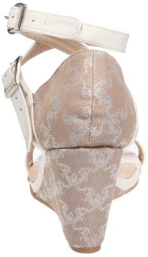 Friis & Company - Ann Marie, Scarpe col tacco Donna Bianco (Weiß (Ivoire (Natural)))