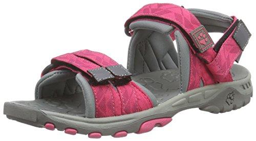 Jack Wolfskin GIRLS BAHIA, Mädchen Sport- & Outdoor Sandalen, Pink (pink raspberry 2045), 34 EU (2 Kinder UK)