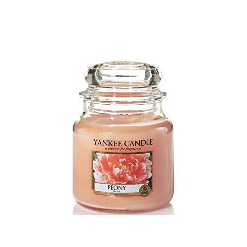 Yankee Candle Peony Jar Kerze (New für Spring 2016), M (Candles Yankee Spring)