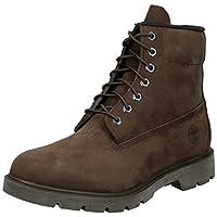 "TIMBERLAND 6"" Basic Non-Contrast Waterproof, Men's Boots, Brown (Red Briar), 8.5 UK (43 EU)"