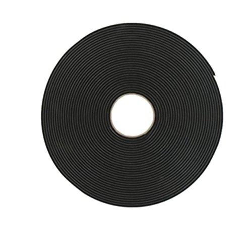 Ruban mousse simple face noir Norton 4.5mm x 9 mm x 20m