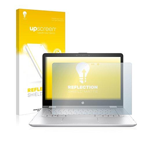upscreen Reflection Shield Matt Bildschirmschutzfolie HP Pavilion x360 14-ba102ng Schutzfolie Folie - Entspiegelt, Anti-Fingerprint