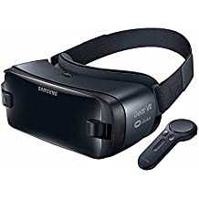 Samsung Gear - Casco de realidad virtual con el controlador, color negro