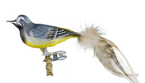 Thüringer Weihnacht 52-013 - Figura de pájaro decorativo (vidrio), d