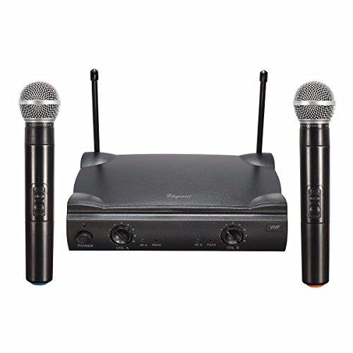 ELEGIANT Micrófono Inalámbrico y Receptor de...