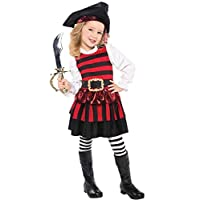 Child Little Lass Pirate Costume Age AGE 6 - 8 YEARS