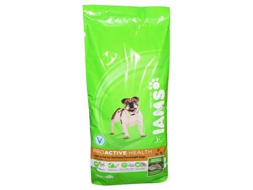 IAMS for Vitality Light in Fat Adult Dog Food with Fresh Chicken, 2kg 1