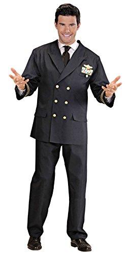 Imagen de widman  disfraz de piloto militar para hombre, talla xl w5708