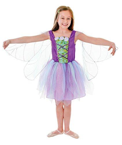 1geflügelten fairykid 's Costume, mittel, Höhe 122–134cm, Alter: ca. 5–7Jahre, geflügelten Fairy (M) (Geflügelte Kostüme)