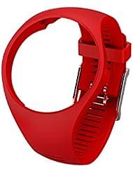 Polar Red M/L, Ersatzband M200, Größe M Unisex–Erwachsene, Rot, M/L