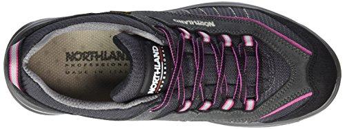 Northland Professional Sölden Lc Ls, Chaussures de Trekking et Randonn&EacuteE Femme Gris - Grau (Grey/Pink 0)