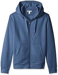Amazon Essentials Full-Zip Hooded Fleece Sweatshirt Hombre