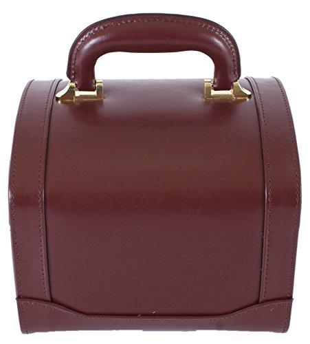 Tassia - Riñonera rojo granate