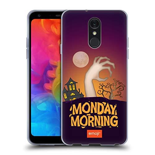 Head Case Designs Offizielle Emoji® Montagmorgen Halloween Parodien Soft Gel Hülle für LG Q7 / Q7 Plus (2018)