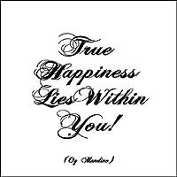 True Happiness Lies Within You! Imán de refrigerador