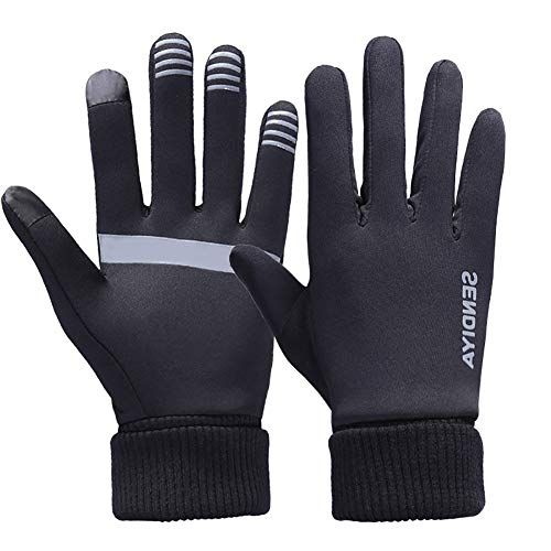 Damen Peter Storm Thinsulate Double Fleece Handschuhe Outdoor Bekleidung Schwarz