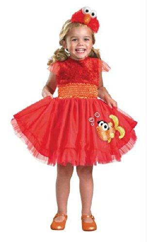 Sesame Street Elmo Frilly -