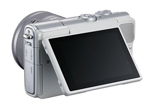 Canon Italia Eos M100 Fotocamera Digitale, Bianco