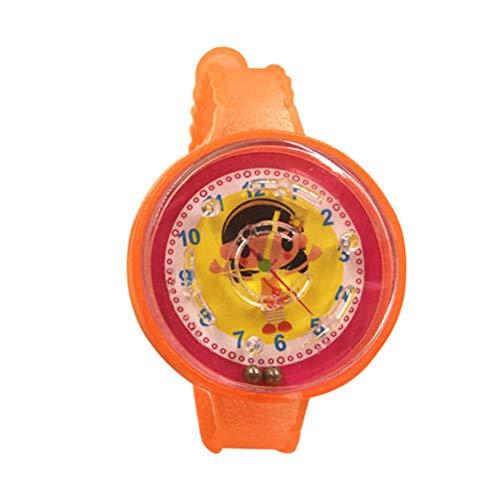 YeahiBaby Kinder Armbanduhr Spielzeug Kinderuhr mit Kugel Labyrinth Geburtstagsgeschenk Party Mitgebsel 50 Stück (Zufällige Farbe)