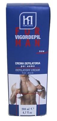 Vigor Mens Depilatory Hair Removal Cream