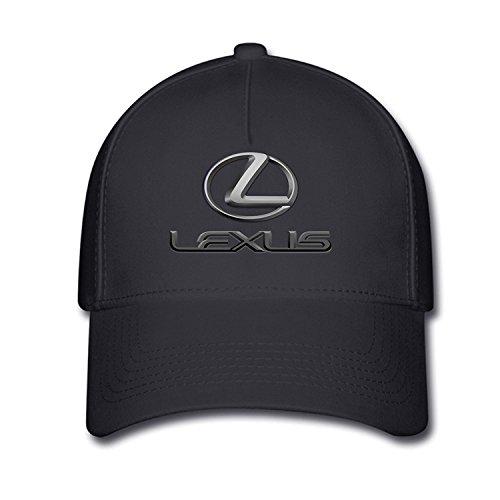 huseki-unisex-lexus-classic-logo-beisbol-caps-tiene-one-size-black