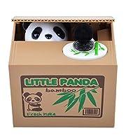 Preisvergleich für Panda-Bär, der Münzen-Kasten-elektronische Piggy Bank-kreativer Penny-Cent-Kasten-automatische Münzen-Grabungs-Essen-Geld-Einsparung-Kasten für Kleinkind-Kinder stiehlt Sicheres Spardose Sparschwein